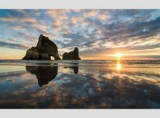 nature, Landscape, Lens Flare, Sunset, Clouds, Reflection