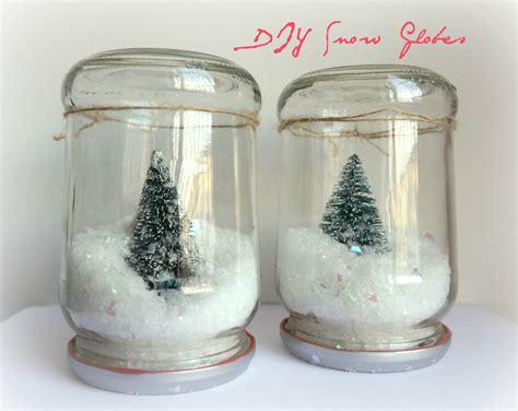 diy snow globe diy jar snow globe