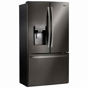 Lfxs28968d Lg Appliances 28 U0026 39  French Door Refrigerator Black Stainless