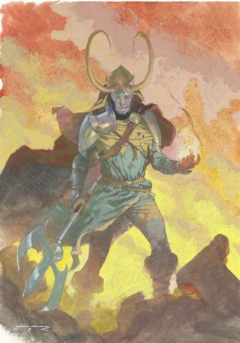 Loki By Esad Ribic Artist Esad Ribic Marvel Comics