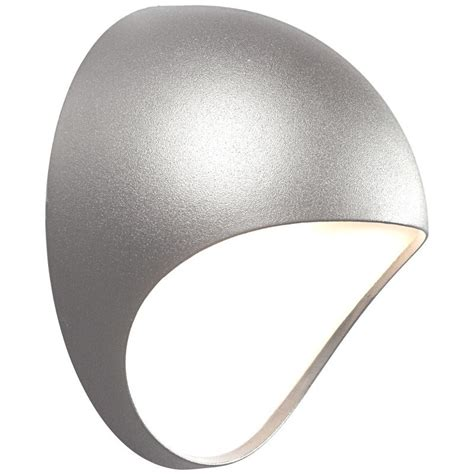 nordlux fuel led outdoor wall light grey