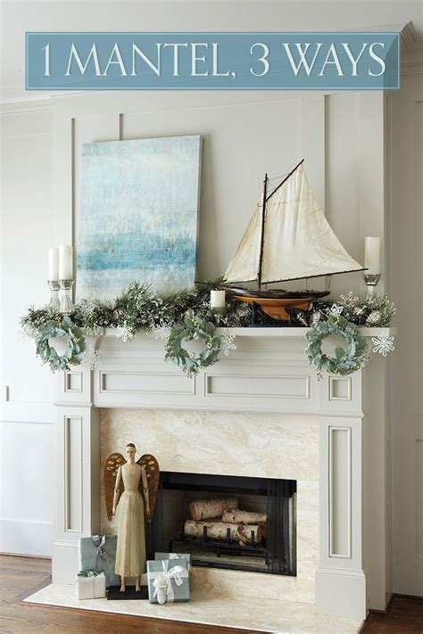 mantel decorating ideas   holidays holiday decor