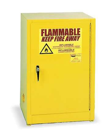flammable safety cabinet 12 gal yellow eagle flammable safety cabinet 12 gal yellow 1925
