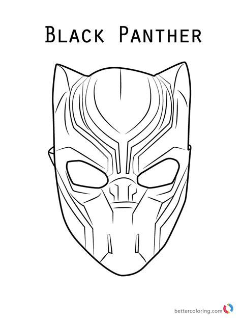 Kleurplaat Panter by Black Panther Panter Coloring Pages Print Coloring