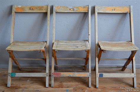 chaise pliante betty latelier belle lurette renovation