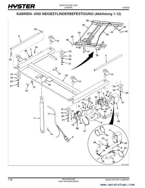 hyster 30 forklift wiring diagram 33 wiring diagram