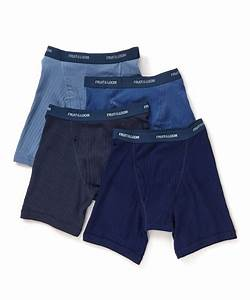 New Fruit Of The Loom Men 39 S 4 Pack Boxer Briefs Blues