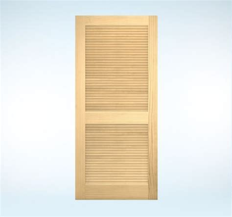 interior doors authentic wood louver for the home