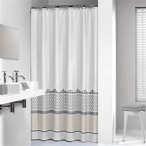 Rideau De Douche : acheter rideau de douche marrakech de sealskin 180 cm ~ Voncanada.com Idées de Décoration