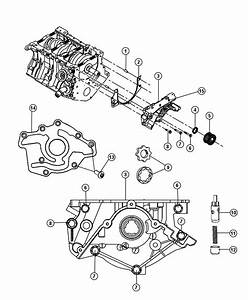 2009 Dodge Avenger Pump  Engine Oil  Complete Pump
