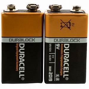 9 Volt Batterie : two duracell 9 volt batteries ~ Markanthonyermac.com Haus und Dekorationen