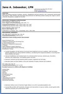 resume as a sle of lpn resume sle resumes