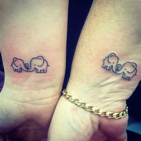 sweetest mother daughter tattoos   precious bond