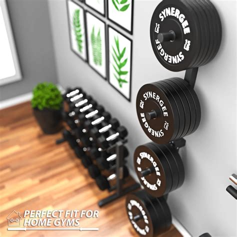 synergee weight plate wall storage rack   plates  wall wall storage plate rack wall