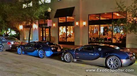 # m795198, w16, automatic, black, black interior. Bugatti Veyron spotted in Miami, Florida on 12/05/2014