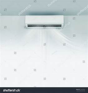 Air Conditioner On Wall Background Stock Photo 314422943 ...