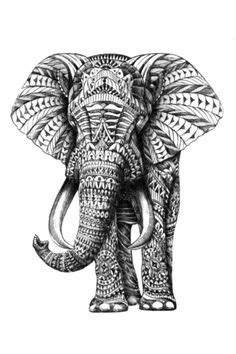11+ Indian Elephant Tattoo Designs