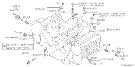 Spark Diagram by 22401aa781 Genuine Subaru Spark