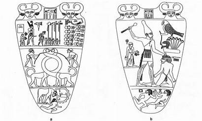 Narmer Palette Mesopotamia Pst Apr Egypte Aliens