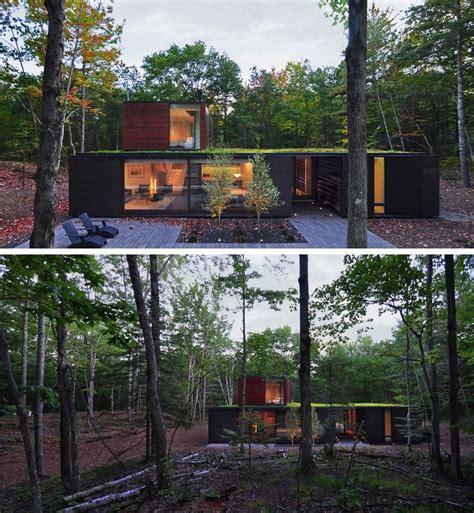 Modernes Haus Im Wald by 18 Moderne Haus Im Wald Gro 223 E B 228 Ume Umgeben Das Haus