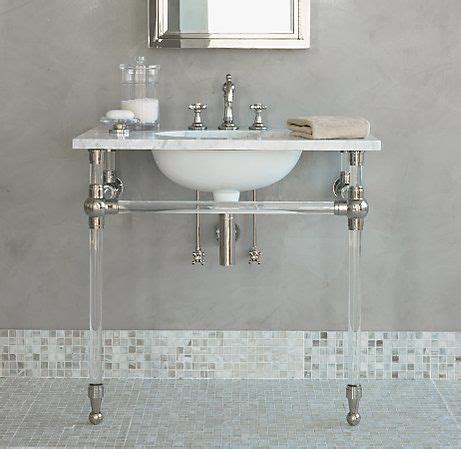 Bathroom Sink Metal Legs
