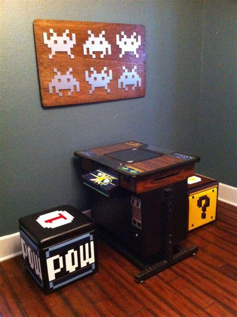 Arcade Bar Stools Stuff To Buy Arcade Room Gamer Room