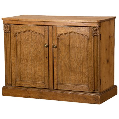 buffet cabinet for sale antique irish gothic revival oak and pine buffet cabinet