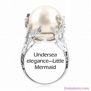 1000 images about little mermaid wedding on pinterest With ariel wedding ring