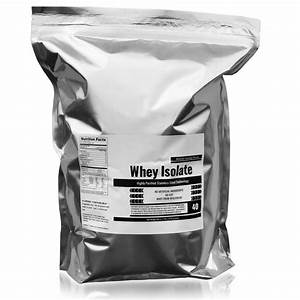 5 Lbs Wisconsin Whey Protein Isolate Only  41 50
