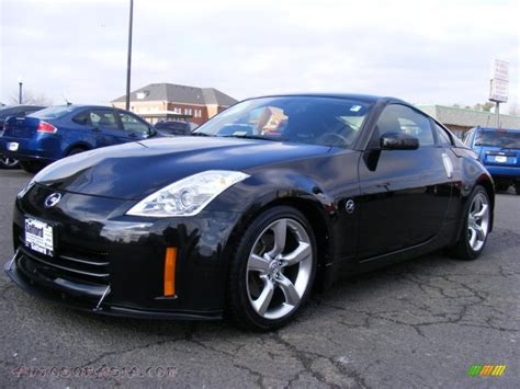 nissan coupe 350z 2007 nissan 350z enthusiast coupe in magnetic black pearl