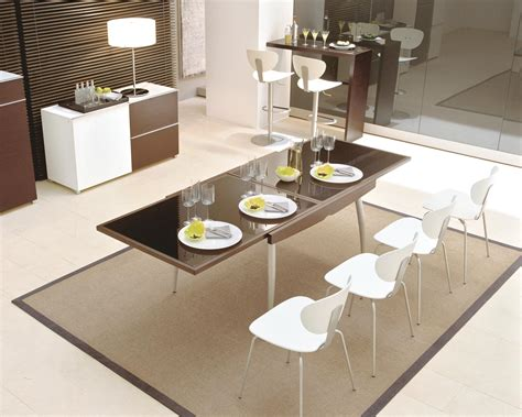31619 stylish dining table contemporary the design contemporary dining room sets amaza design