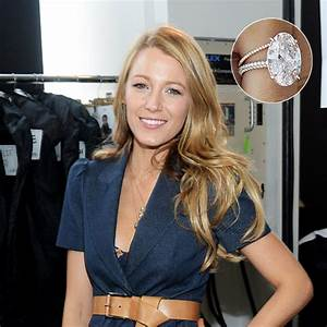 Blake Lively Ring Design The Most Expensive Engagement Rings Of All Time Hello Us