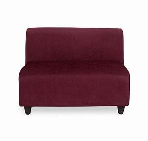 2 seater sofa no arms brokeasshomecom With sofa bed no arms