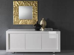 Contemporary white sideboards with luxury finishes by for Küchensideboard