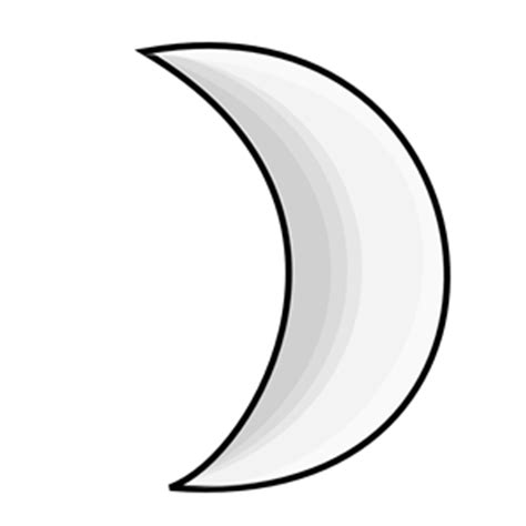 Best Moon Clipart #4564 Clipartioncom