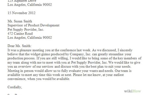 How Do You Write A Business Letter