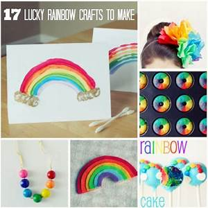 17 DIY Lucky Rainbow Crafts You'll Love Make and Takes