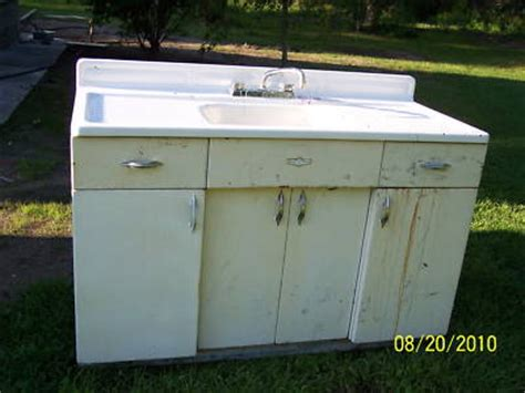youngstown kitchen cabinet sink 1940 s 1950 s antique