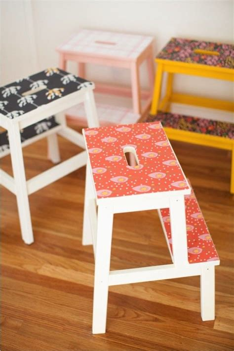 upgrade  ikea bekvam step stool   wallpaper hack