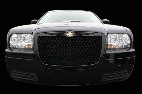 Bentley Grill Chrysler 300 by Chrysler 300 Black Bentley Mesh Grille