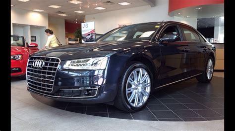 Audi A8 2015 Interior by 2015 Audi A8 L 4 0t Quattro Tiptronic Exterior Interior