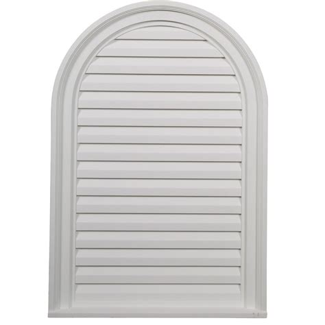 decorative gable vents nz ekena millwork gvca22x32d 22 inch w x 32 inch h x 2 1 8 inch