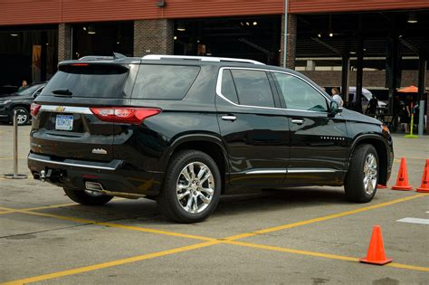 chevrolet crossover 2018 chevrolet traverse premier first drive review