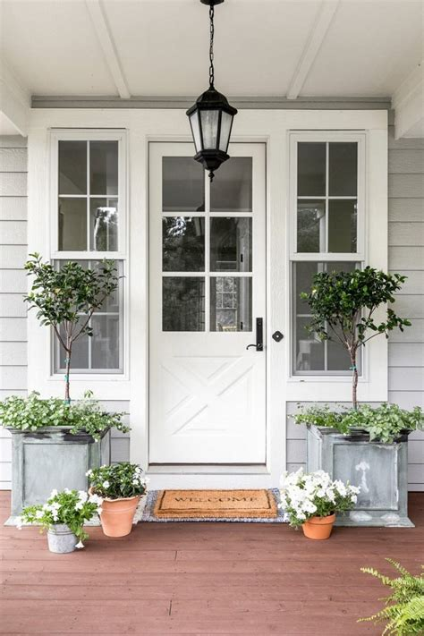 Farmhouse Front Door Ideas and Inspiration   Hunker