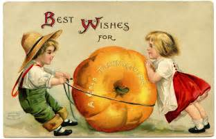 vintage thanksgiving image with pumpkin the graphics