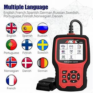 Ancel Vd700 Obd2 Car Scanner Auto Code Reader Oil Epb Srs