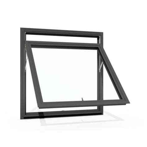 boyd architectural grade  series aluminum awning windows  nailing flange  menards