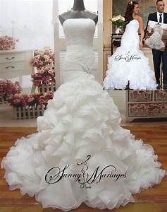 Robe De Mariee Sirene : robe de mariee sirene bustier coeur pas chere vente en ~ Melissatoandfro.com Idées de Décoration