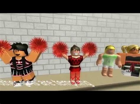 ROBLOX Music Video - Cheerleader - YouTube