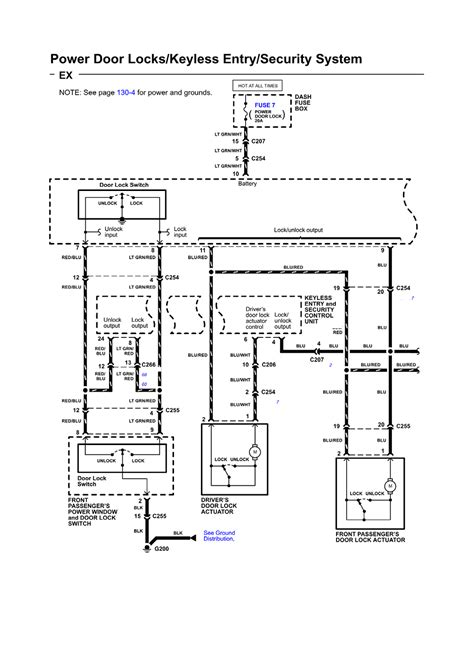keyless entry system wiring diagram likewise door daytime